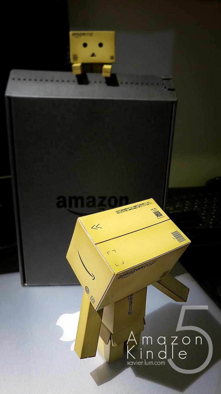 Amazon Kindle 5 : Unbox 2