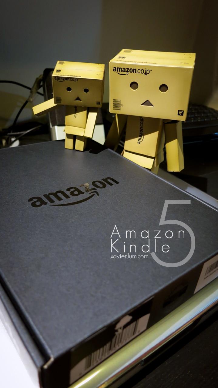 Amazon Kindle 5 : Unbox 3