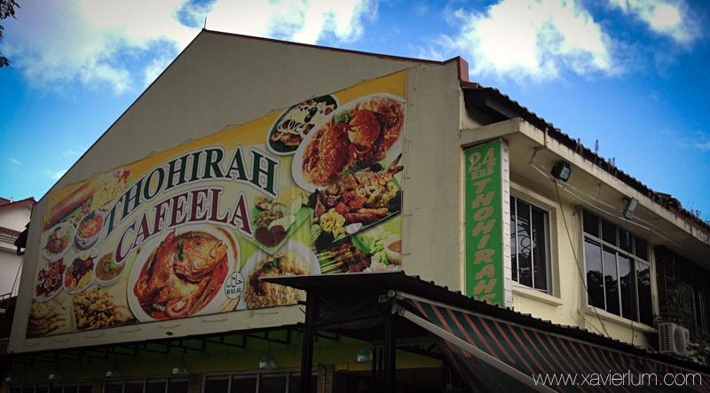 Thohirah Restaurant at Jalan Kayu