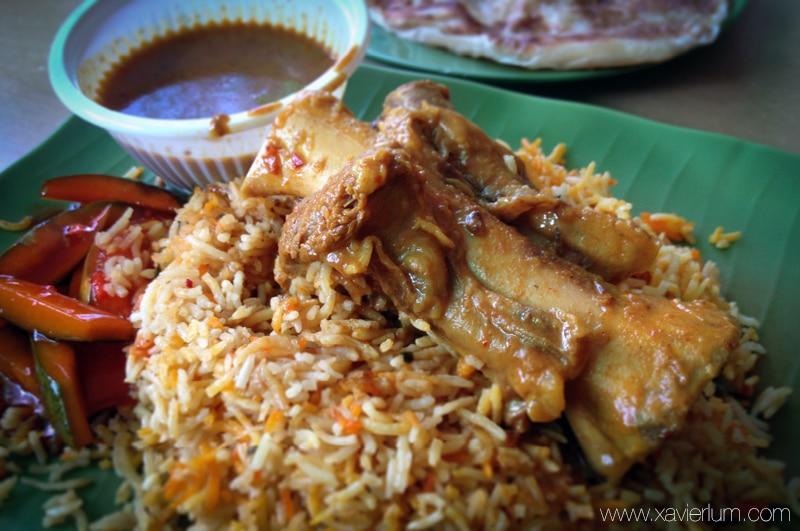 Food Review : Thohirah Restaurant serves good Biryani @ Jalan Kayu 1