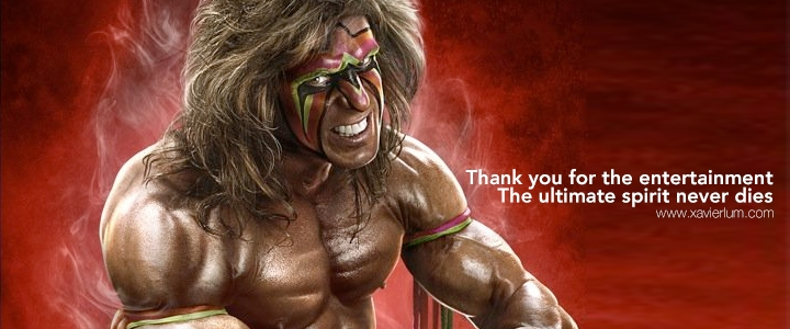 In Memory of The Ultimate Warrior (1954 ~ 2014)