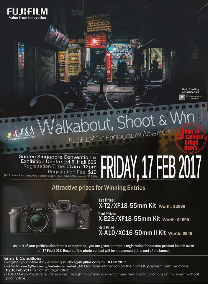 Fujifilm Walk 17