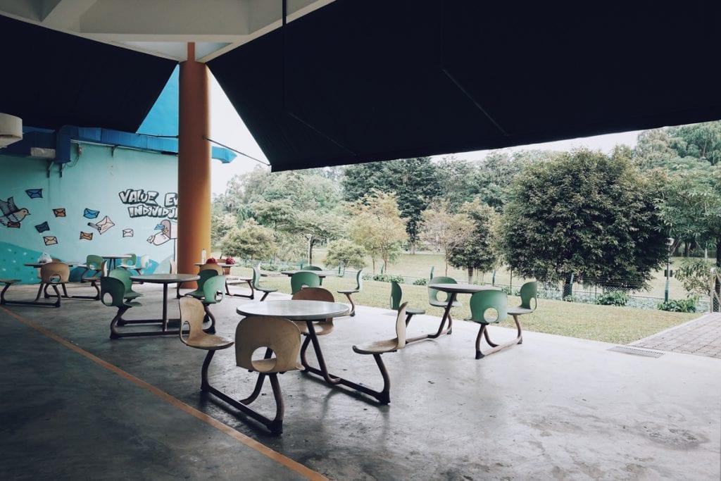 Detention area