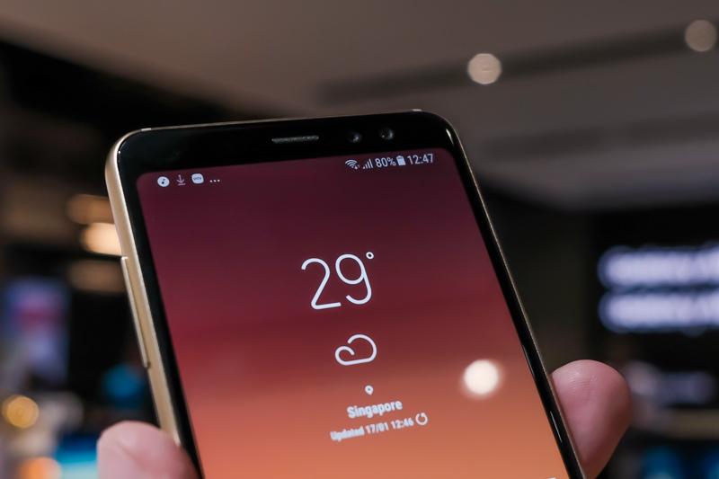 Samsung Galaxy A8 and Samsung Galaxy A8+ Announcement 3