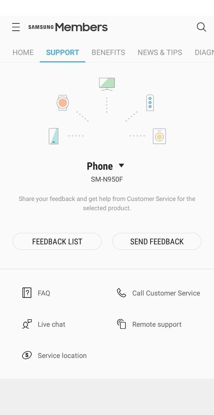 Samsung Members Apps 3