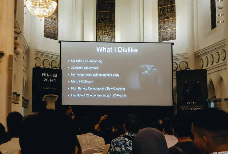 Fujifilm X-H1 Launch Event in Singapore - In my own words 2