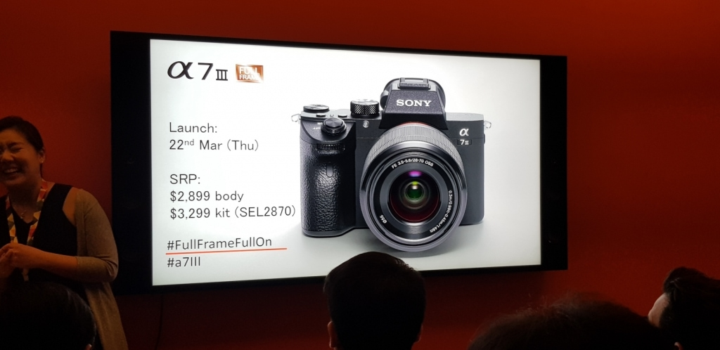 Sony A7III Preview Launch - In my own words 2