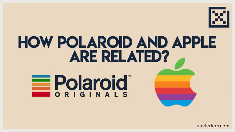 How Polaroid and Apple are related?
