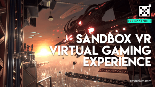 Sandbox VR Singapore Review 2019- Virtual Reality Gaming
