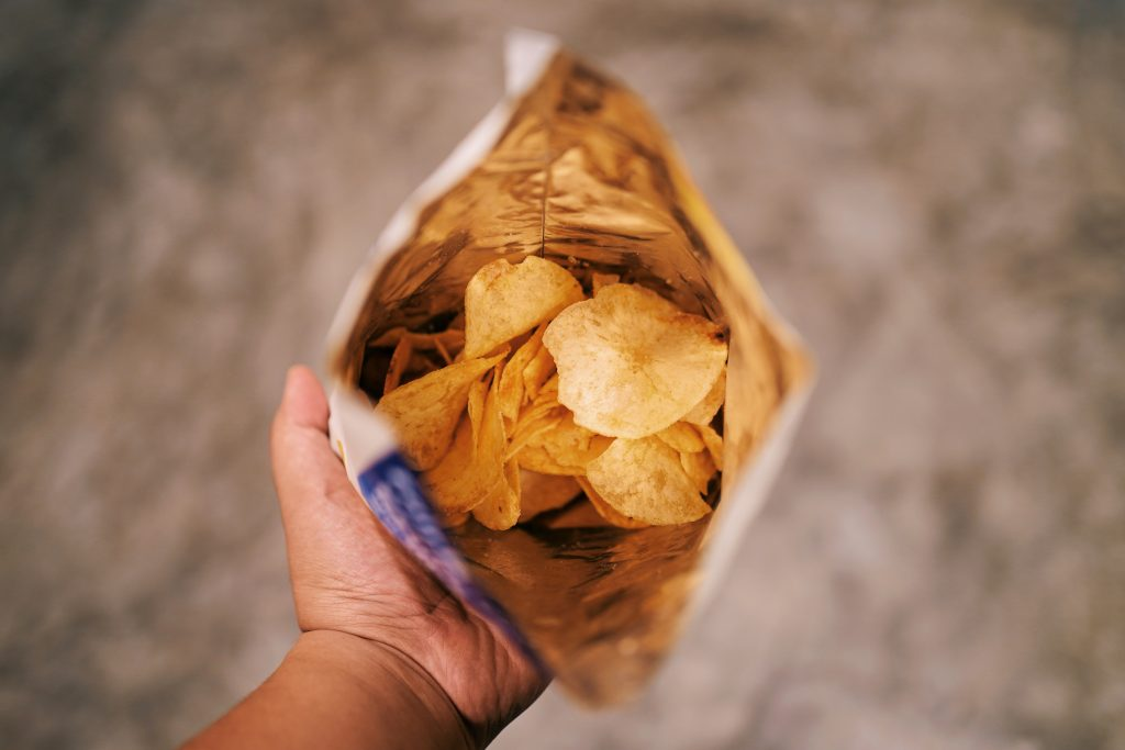 Potato chips bought from NTUC