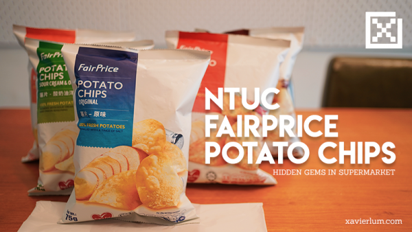 NTUC FairPrice Potato Chips Review
