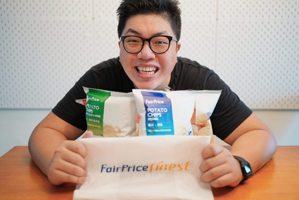 I have bought all flavours to try out to bring you this NTUC Potato Chips Review