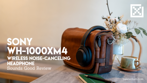 Review – Sony Noise Cancelling WH-1000XM4 Headphone